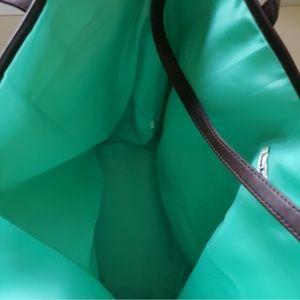 Neiman Marcus Bags - NWOT NEIMAN MARCUS FLORAL VEGAN OVERSIZE TOTE